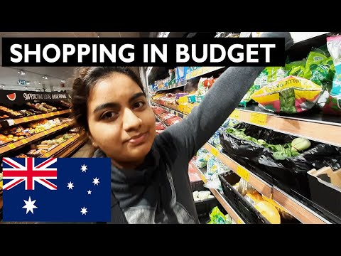 Budget grocery shopping in Sydney Australia I Indians in Australia