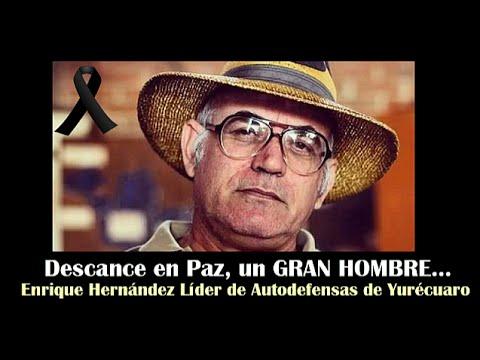 Aniversario Luctuoso de Enrique Hernández, Líder de Autodefensas en Yurécuaro