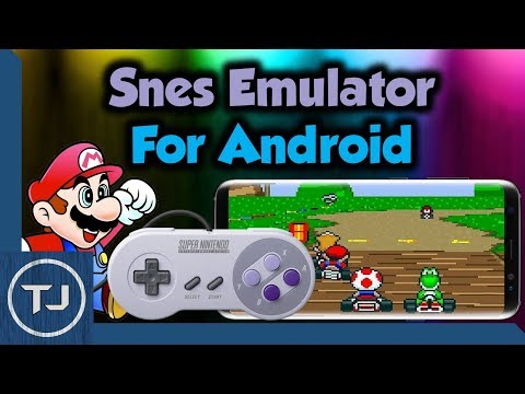 Android SNES Emulator With USB SNES Controller Support!