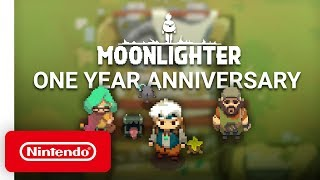 Moonlighter - Between Dimensions DLC Announcement Trailer - Nintendo Switch