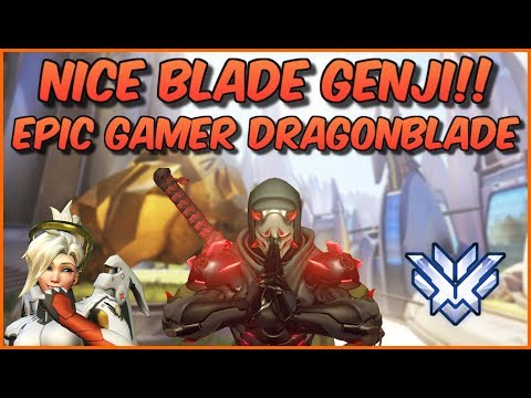 """Yo NICE Blade!!"" Unwashing My Genji! Overwatch Top 500 Genji Gameplay thumbnail"