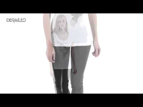 MiH Jeans The Scoop Neck T-Shirt - Short Sleeve (For Women)