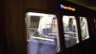 Washington Metro - 7000 Train Test - Blue Line