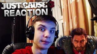 "Reaction | Трейлер игры ""Just Cause 3"""