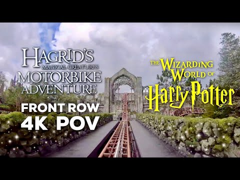 Hagrid's Magical Creatures Motorbike Adventure FULL RIDE POV | Wizarding World of Harry Potter