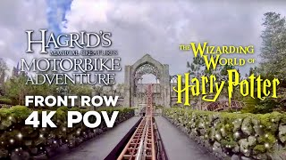 FRONT ROW Hagrid's Magical Creatures Motorbike Adventure OPENING DAY FULL POV | WIZARDING WORLD