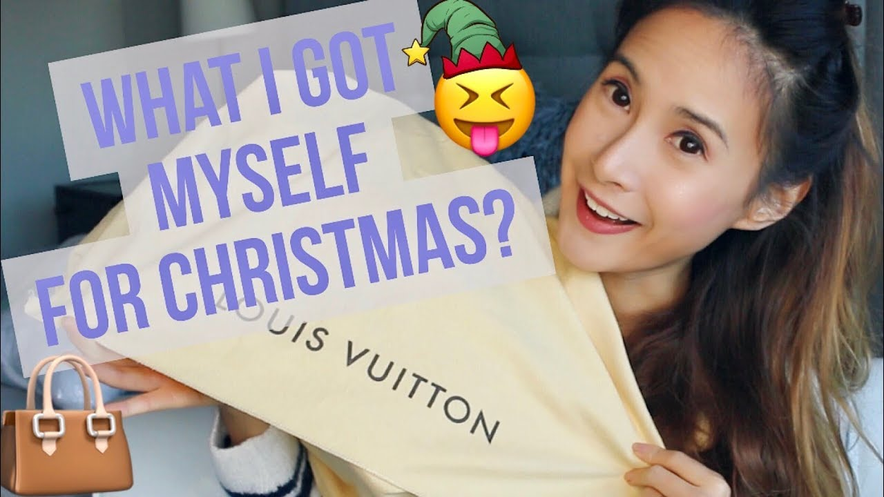 0d5a783b9a7f WHAT I GOT MYSELF FOR CHRISTMAS  MY NEW LOUIS VUITTON ALMA PM BAG ...