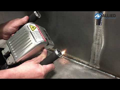 LaserBlast Cleaning System - Heat Tint and Weld Cleaning