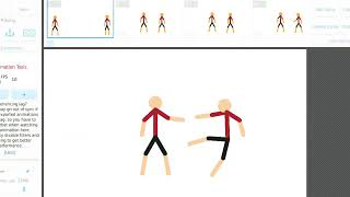 Анимация битва 2 стикмана паша паук