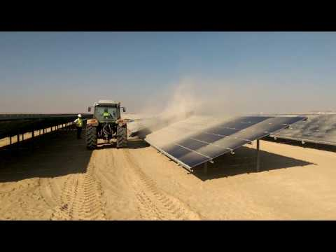 Module Cleaning In The Desert