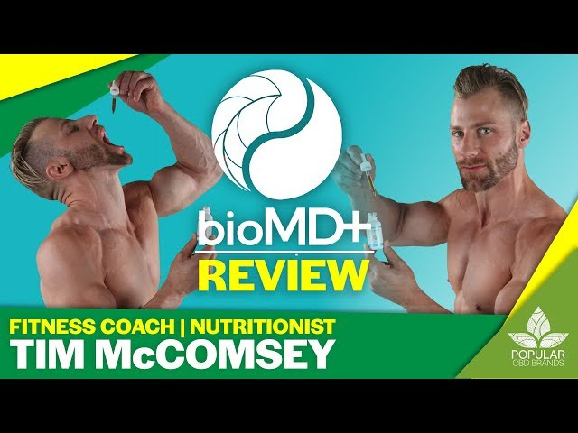 BioMD CBD Review Citrus Tim McComsey