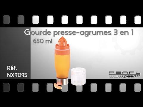 GOURDE PRESSE-AGRUMES - CURE DETOX - [PEARLTV.FR]