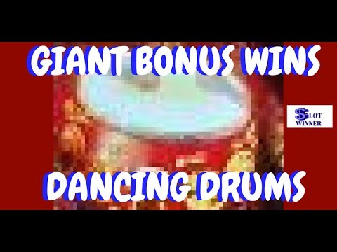 Dancing Drums Slot Machine Packed Action Youtube
