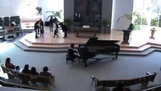 2011年度ベアード久恵ピアノ、リトミック教室の2歳クラスの発表です。