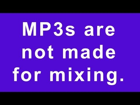 Don't Use MP3 & AAC Files While Mixing Or Mastering