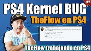 Kernel BUG Ps4 encontrador por TheFlow !! La cosa se anima