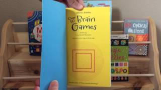 Usborne Books & More: Brain Games, Brain Puzzles, Logic puzzles