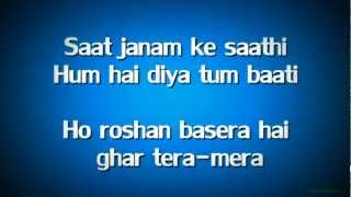 Saanson Ne (Lyrics HD) - Dabangg 2  ft. Sonu Nigam, Tulsi Kumar | FULL Song