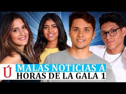 Malas noticias para Alfonso, África, Damion y Sabela a unas horas de la Gala 1 de Operación Triunfo