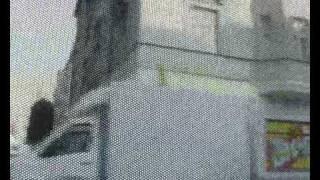 Linie 37 hinter folierten Scheiben