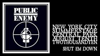 Public Enemy - Shut Em Down (Central Park Summerstage 2010)