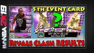 MyNBA2k19   RIVALS CLASH RESULTS   Khris Middleton MAXED   Draft Board Resets & Pull Rates  