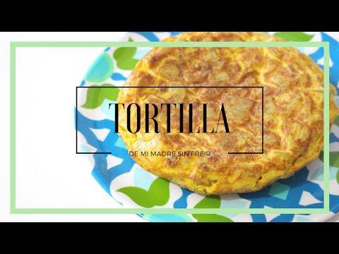 Como hacer tortilla de patata sin freir · La tortilla de mi Madre · 💄Lucía Puebla💋