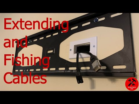 How to Extend and Hide TV 📺 wires