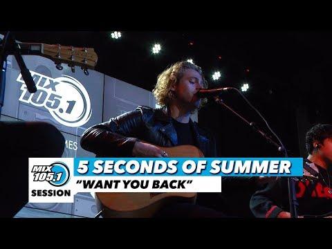"""5 Seconds of Summer"""" Want You Back"""" 