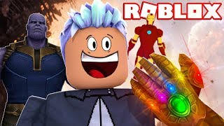 Get the GAUNTLET of INFINITY in ROBLOX! ‹ Nsis ›