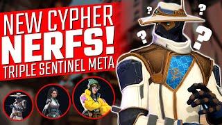Valorant: Cypher NERFS! Rİot Responds to Hiko & Killjoy Sentinel Meta!
