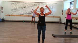 Daily Endorphin Rush! Cardio Kickboxing and Weights with Rebecca