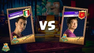 CCGS World Finals Semi Finals - Tali vs SergioRamos:)