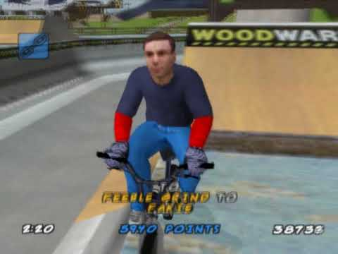 Dave Mirra Freestyle BMX 2 (PS2 Gameplay)