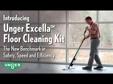 The Unger Excella Floor Cleaning System
