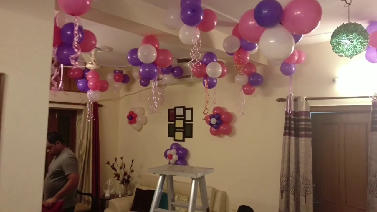 Decoration for Welcoming Newborn | Vasant kunj | Delhi : baby welcome party decoration ideas - www.pureclipart.com