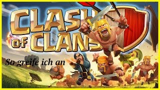So greife ich in Clash of Clans an