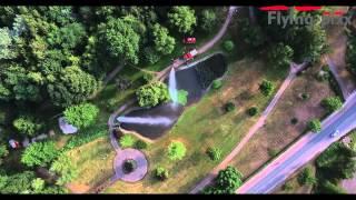 Schmölln, Feuerwehreinsatz im Stadtpark