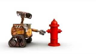 Pixar Short WALL-E Meets Fire Hydrant