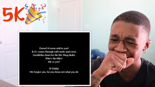 THE NOTORIOUS B.I.G. FT. BONE THUGS N HARMONY - NOTORIOUS THUGS (LYRICS) | REACTION