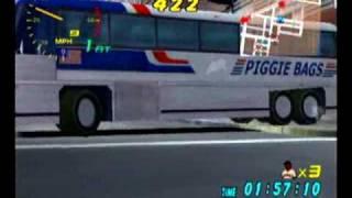 Super Runabout (Dreamcast) Bus Level
