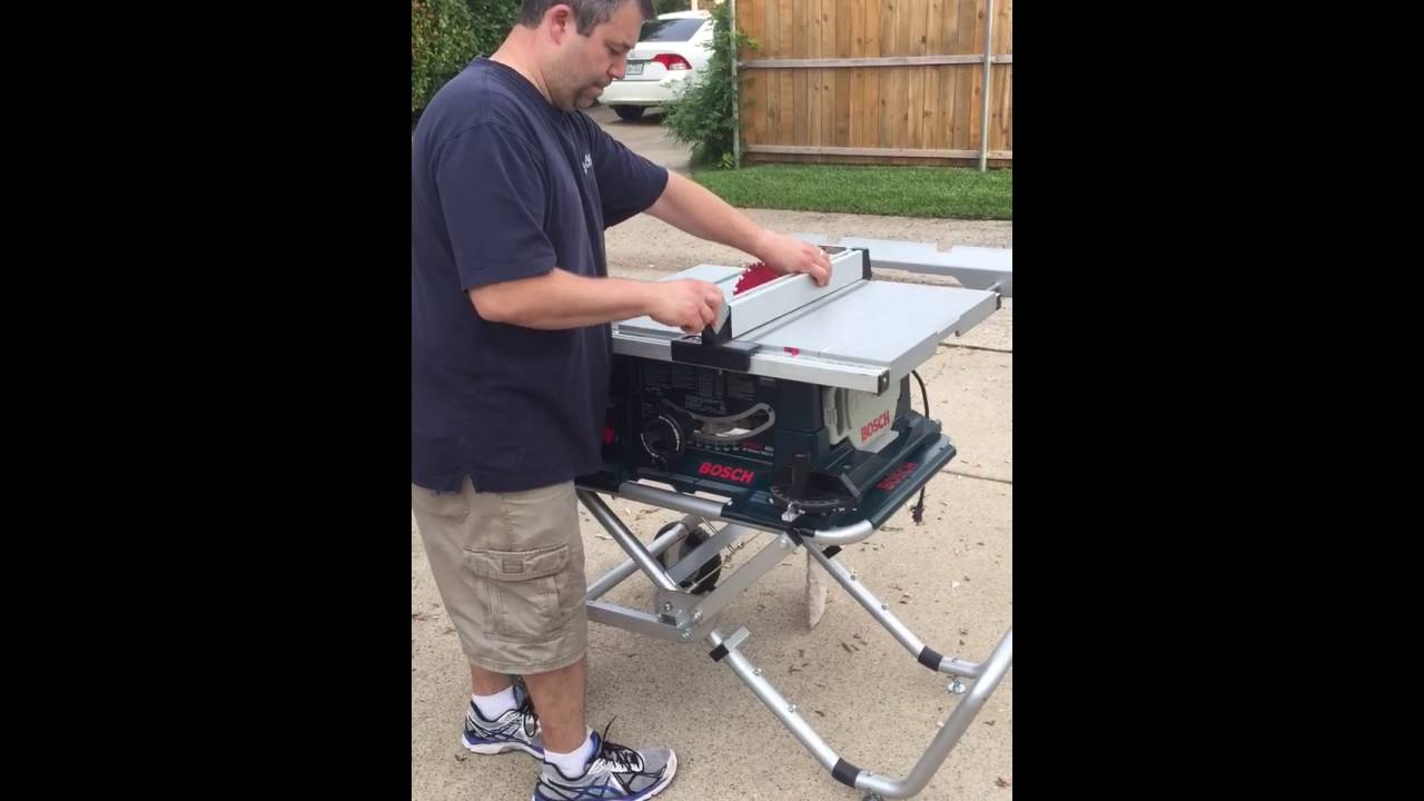 Bosch 4000 10 table saw with gravity rise stand youtube bosch 4000 10 table saw with gravity rise stand greentooth Choice Image