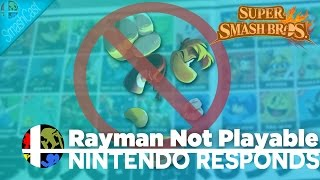 Rayman Not Playable in SSB4?!