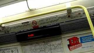 London Underground (Train Announcements)
