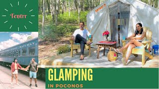Glamping with Tentrr   Eąsy Camping experience in Jim Thorpe, Pennsylvania