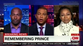 CNN Tonight With Don Lemon   Van Jones on Prince