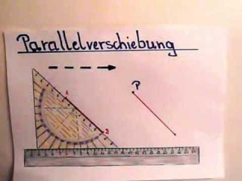 Parallelverschiebung - Erklärung