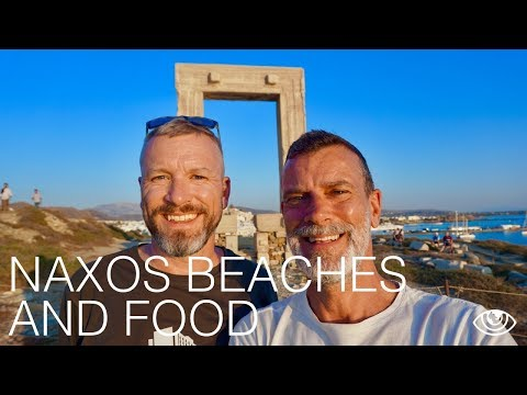 Naxos Beaches and Food / Greece Travel Vlog #203 / The Way We Saw It
