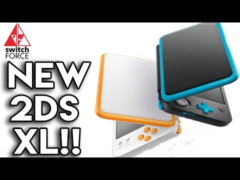 NEW NINTENDO 2DS XL ANNOUNCED! BEST VERSION OF 2DS?!