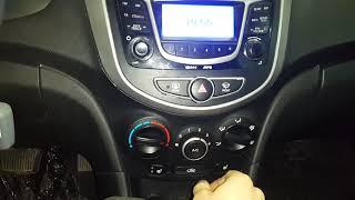 отключение кондиционера в режиме обдува лобового стекла Hyundai I30 и KIA CEED